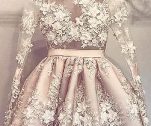 homecoming dress, champagne prom dress, and homecoming dresses image