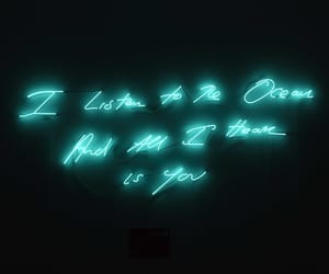 blue, turquoise, and neon image