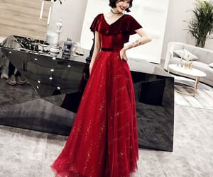 evening dress, evening dresses 2019, and long dresses image