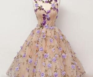 prom dresses, homecoming dress, and champagne prom dresses image