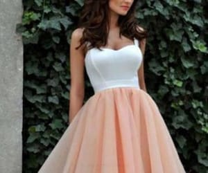 white prom dresses and cheap homecoming dresses image