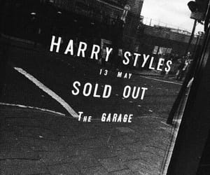 Harry Styles, black and white, and one direction image