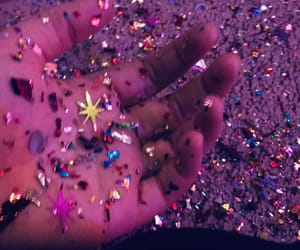 glitter, grunge, and party image