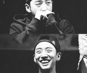 black and white, boy, and gummy smile image