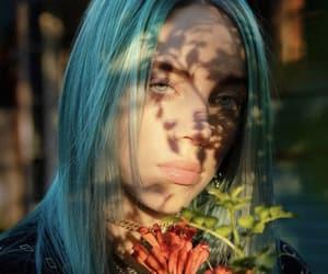 billie eilish and flowers image