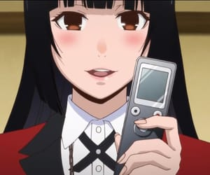 anime, anime girl, and kakegurui image