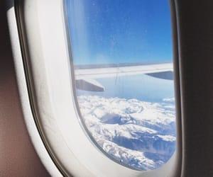 aeroplane, europe, and fly image