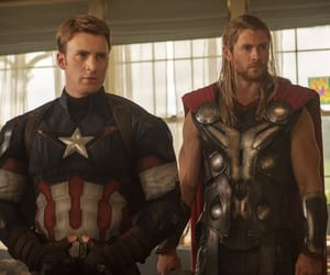 Avengers, thor, and chris evans image