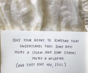 advice, heart, and quote image