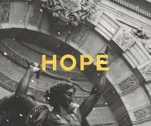 wallpaper, hope, and statue image