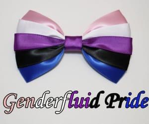 colours, genderfluid, and flag image