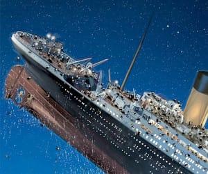 1912, ships, and titanic image