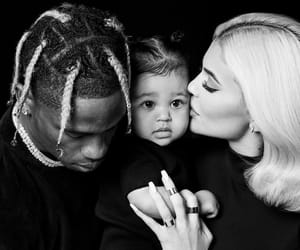 kylie jenner, family, and travis scott image