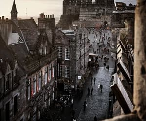 city, edinburgh, and life image