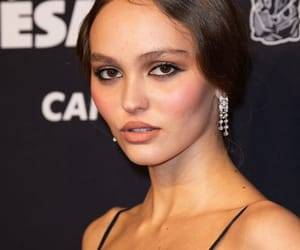 model, pretty, and lily-rose depp image