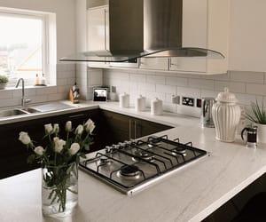 interior, kitchen, and stylish image