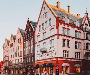 architecture, bergen, and colors image