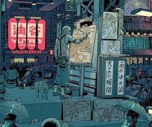 art, boy, and china image