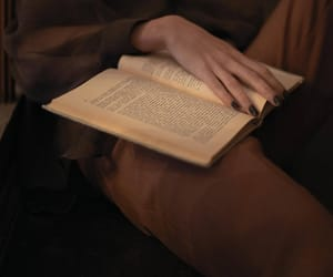 book, brown, and nails image