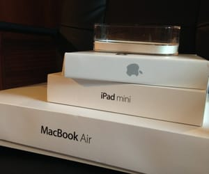 iphone, macbook air, and ipad image