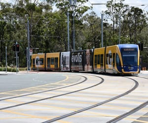 australia, tram, and trams image