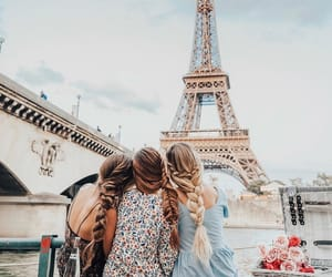 eiffel tower, france, and francia image