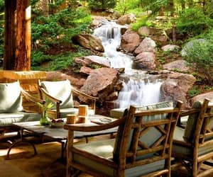 waterfall and outdoors image