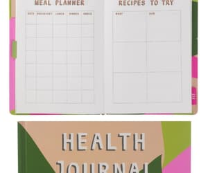 carnet, diary, and diet image