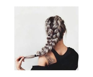 black, braids, and color image