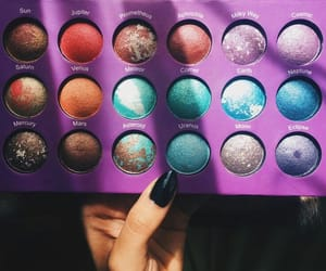 make up, nice, and palette image