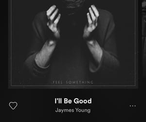 we heart it, spotify, and jaymes young image