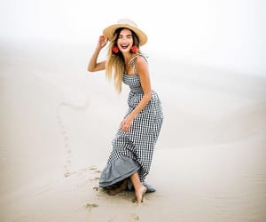 beach, dress, and quigley image