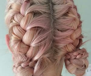 beauty, hairstyle, and braids image