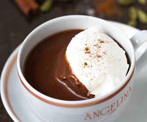 drink, hot ​chocolate, and chocolate image
