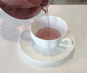 pink, aesthetic, and tea image