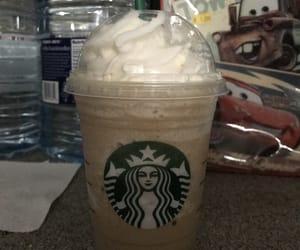 coffee, starbucks, and frappucino image