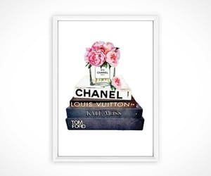 chanel, chanel shoes, and flowers image