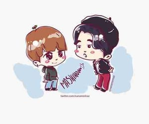 fanart, cute, and 준규 image
