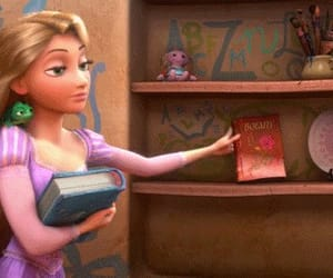 animation, blonde girl, and disney princess image