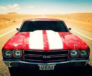 muscle cars, vintage, and old timer image