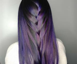 color hair, hair, and hairstyle image