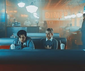 diner, riverdale, and betty cooper image