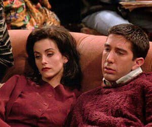 amigos, chandler, and monica image