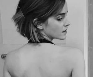 black and white, gryffindor, and emma watson image