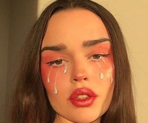 alternative, grunge, and makeup image