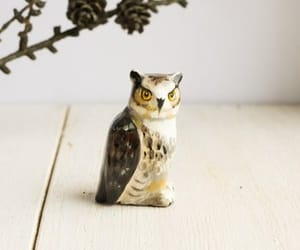 etsy, home decor, and owl image