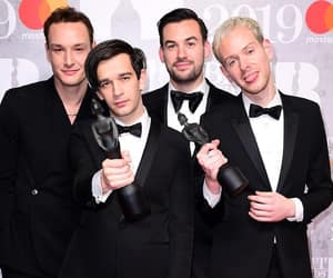brit awards, ross macdonald, and the 1975 image