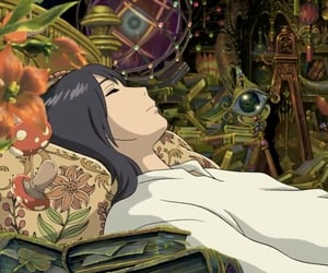 ghibli, howl's moving castle, and Howl image
