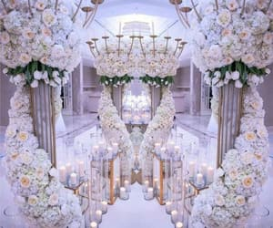 flowers, wedding, and love image