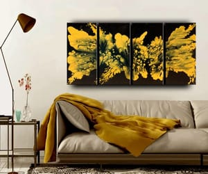 contemporary art, etsy, and home decor image